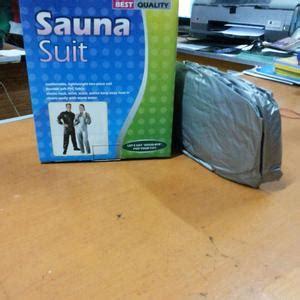 Baju Sauna Jaco sauna suit baju celana olahraga jaco pembakar lemak siken untuk pria wanita slim suit