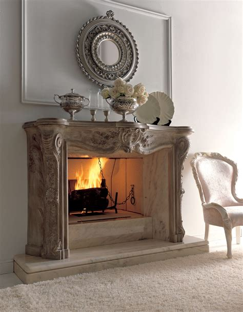 Fireplace Decorations | luxury fireplaces for classic living room by savio firmino