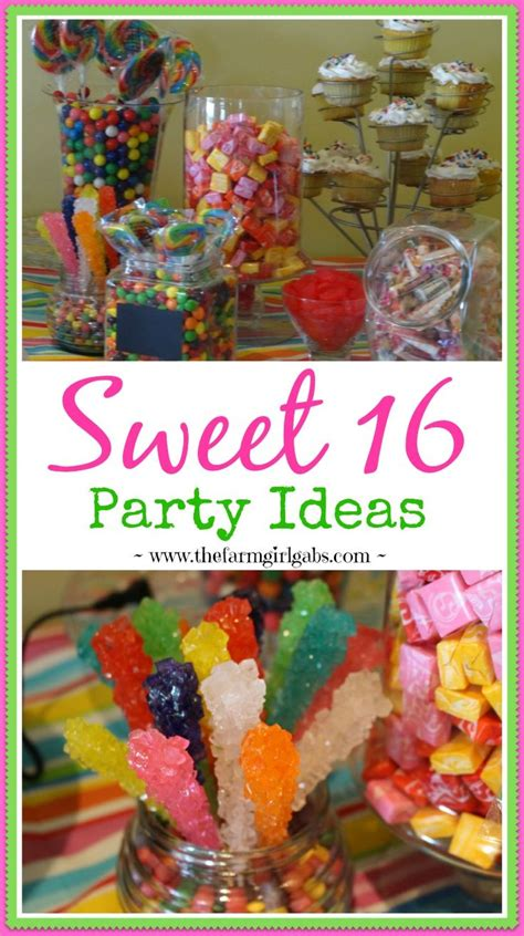 sweet 16 birthday party ideas thriftyfun newhairstylesformen2014com 25 b 228 sta sweet 16 parties id 233 erna p 229 pinterest sweet 16