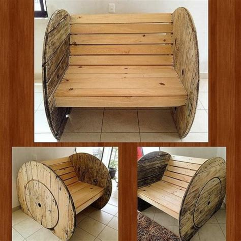 Exceptionnel Table Et Fauteuil De Jardin #3: fauteuil-touret-a-faire-soi-meme-pieces-de-tourets-d%C3%A9mont%C3%A9e-pour-fabriquer-un-meuble-rustique-resized.jpg