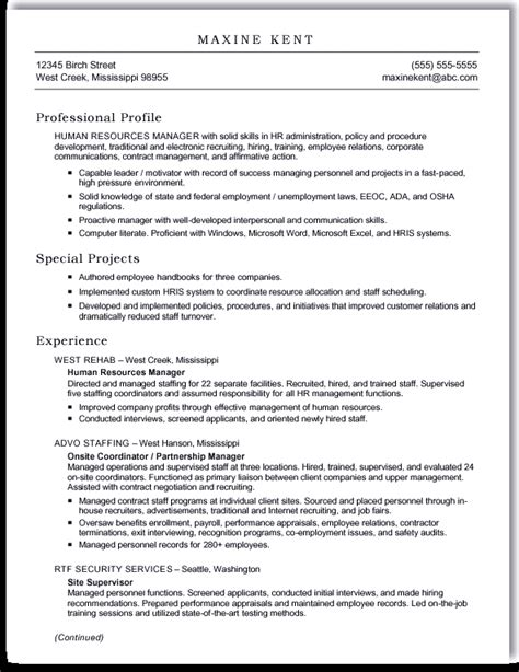 Resume In Word by Resume Format Word Document Best Resume Gallery