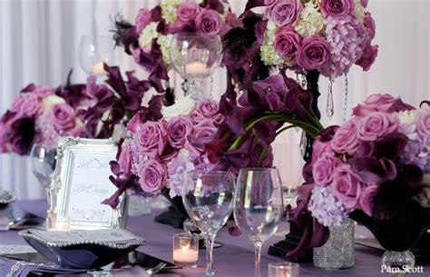 purple   fabulous colour scheme   wedding