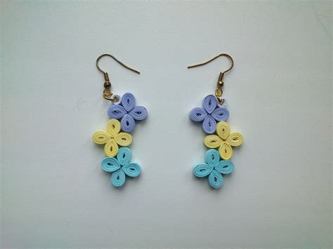 quilling paper earrings tutorial video paper quilling jewelry beginners www pixshark com