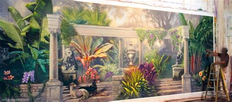 wall mural painters 30 beautiful wall mural paintings for your inspiration