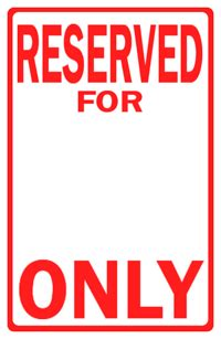 Parking Signs Archives Abq Sign Print 505 294 7446 Reserved Parking Sign Template Free
