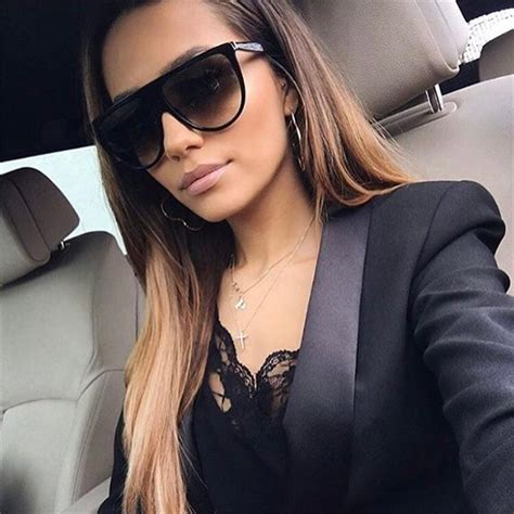 molniya oversized square sunglasses women designer brand
