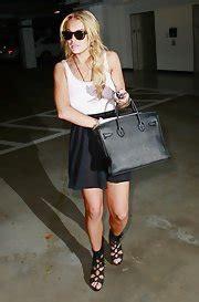Lace Pumps A La Lindsay Lohan by Lindsay Lohan Tote Bags Lindsay Lohan Fashion Stylebistro