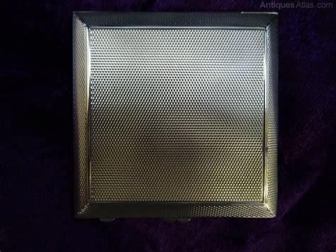Carlton Vanity Case Antiques Atlas Silver Amp Enamel Compact With Flower Design