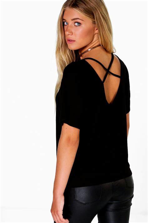 Insert Top boohoo womens nora mesh insert top strappy back top ebay
