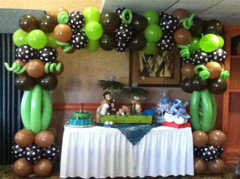 Jungle Theme Baby Shower Balloons by Balloons For Jungle Theme Baby Shower Search