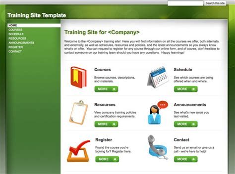 10 handy web templates from google sites practical ecommerce
