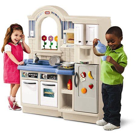 Tikes Kitchen Center by Tikes Inside Outside Cook N Grill Kitchen