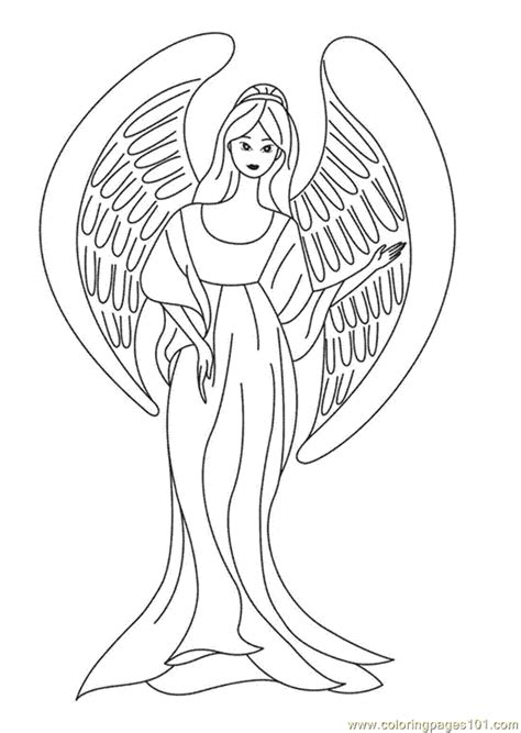 coloring page angels angel printable coloring pages coloring home
