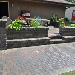 Patio Paver Cost 2017 Brick Paver Costs Price To Install Brick Pavers Patios