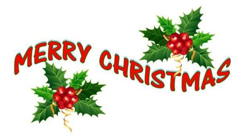merry christmas words clip art images wallpapers  clipartandscrap