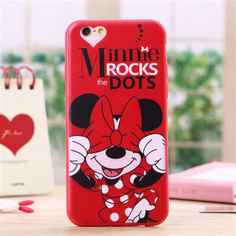 Casecassingcasing Soft Silicone Minnie Mouse For Iphone 6 Plus minnie mouse mickey reviews shopping minnie mouse