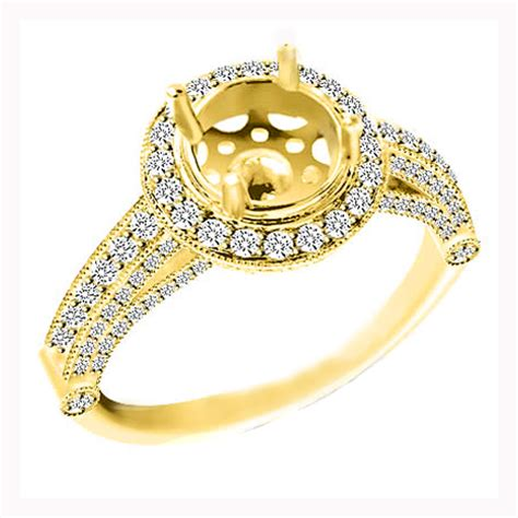 yellow gold wedding ring with unique diamondwedwebtalks