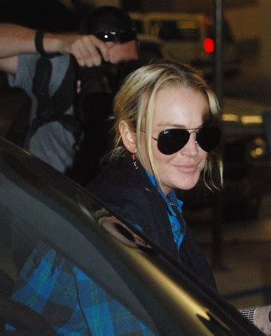 Paparazzo Hits Lindsay Lohans Car by Lindsay Lohan Involved In Hit Run With Baby Stroller