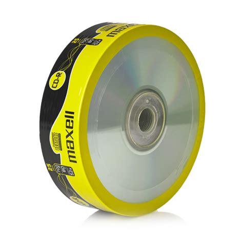 format cd r disc maxell cd r blank discs 80min speed 52x 700mb x 25 at