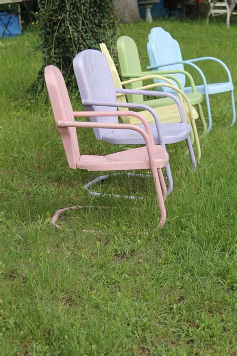 how to restore metal outdoor furniture furniture how to restore vintage metal lawn porch chairs waste as a way of retro metal patio