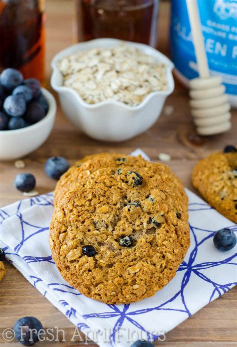 protein oatmeal cookies blueberry oatmeal protein cookies