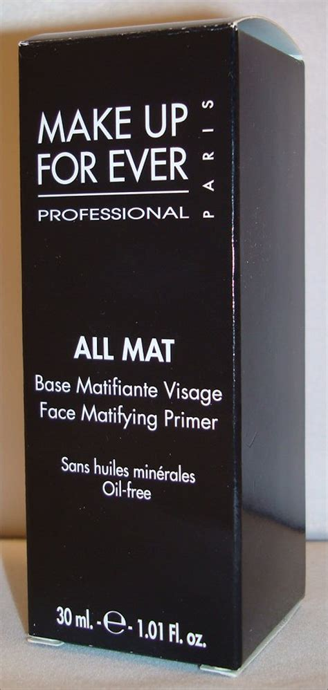 All Mat Makeup Forever make up for all mat matifying primer review pictures swatch and learn