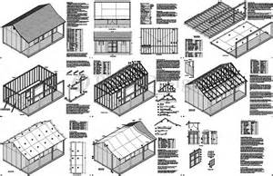 griswouls more free 20 x 20 shed plans
