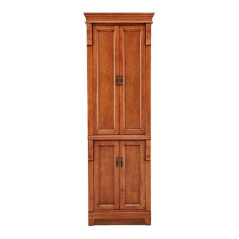 home depot linen cabinet foremost naples 24 in w linen cabinet in warm cinnamon nacl2474 the home depot