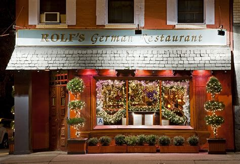 rolf s rolf s german restaurant is ready for christmas with