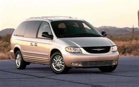 chrysler minivan 2002 chrysler town and country information and photos