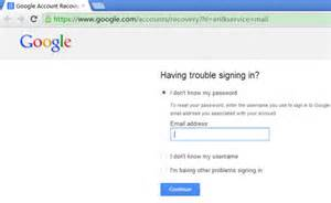 Gmail password recovery 2 ways to recover gmail password