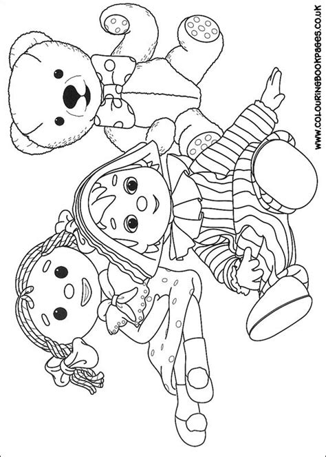 Andy Pandy Coloring Pages andy pandy colouring pages 52 cbeebies colouring sheets