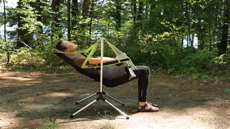 rocking chairs  lightweight  portable   stargaze camping recliner solidsmack