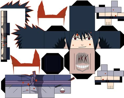 Sasuke Papercraft - sasuke kurama chakra by hollowkingking on deviantart