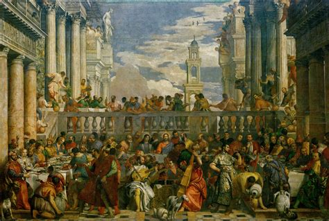 wedding at cana only in epph veronese s the marriage at cana 1563