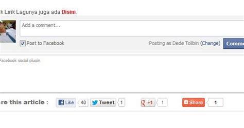 cara membuat kotak likebox facebook di blog jos998 blog cara membuat kotak komentar facebook pada blog sendana
