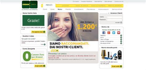 Banca Credem Filiali by Credem 2018 Conto Deposito E Mutui Casa Opinioni E