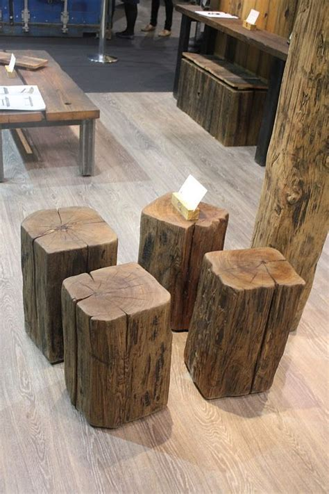 Tree Stump Bar Stools by 60 Best Tree Stump Projects Images On
