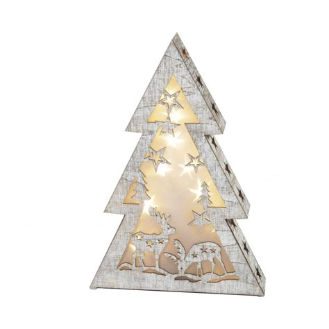 dar 006x04007 led wooden christmas tree light love lights