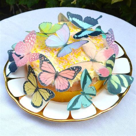 butterfly cookies butterfly cakes wafer paper tutorial edible pastel butterflies medium 3d butterfly colours