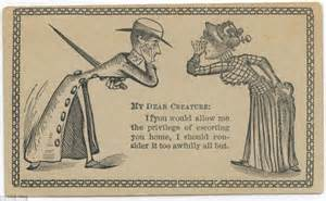 19th century calling card templates the flirtation cards 19th century used to woo