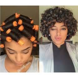 american perm rod hairstyles for black image result for perm rod roller set on relaxed hair