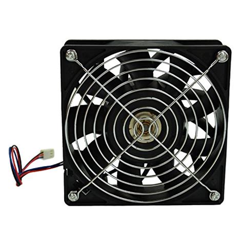 high cfm case fan highfine 12cm 120mm 200cfm 4000rpm cpu fan