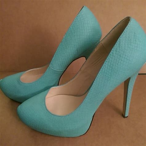 aqua high heel shoes 65 shoe dazzle shoes light aqua turquoise high heel
