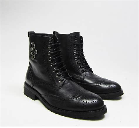 s cool philipp plein black cowhide leather lace up