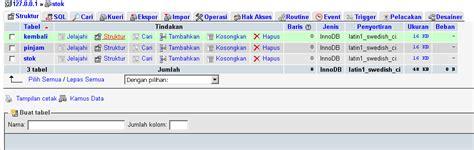 membuat trigger update di mysql trigger mysql untuk update jumlah stok pada database