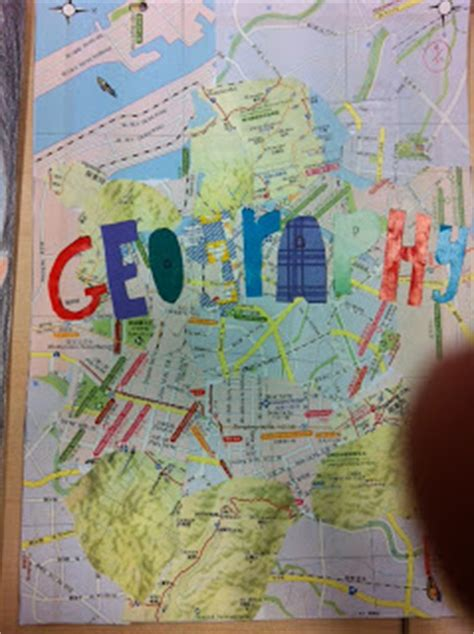 geography file cover page