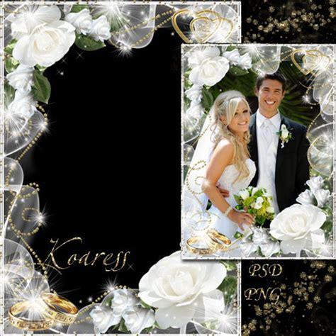 Photo frame   Wedding roses
