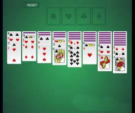 Solitaire card game flash games fan