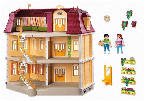 play mobile doll house playmobil grand mansion doll house 5302